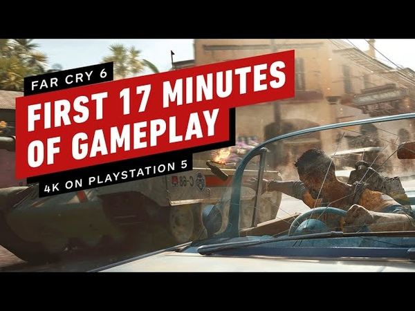 The First 17 Minutes of Far Cry 6 Gameplay on PlayStation 5 4K 60FPS