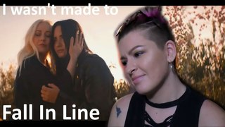 Christina Aguilera - Fall In Line (Official Video) ft. Demi Lovato   Реакция на клип