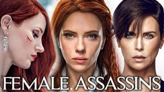 Top 20 Female Assassins/Hitwoman: Best Badass Fight Scenes (4K UHD) #Part1