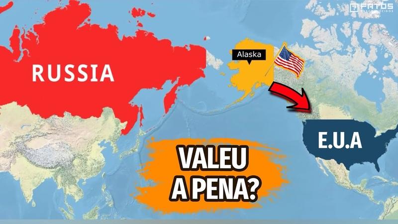 A verdadeira razão pela qual a Rússia vendeu o Alasca para os Estados Unidos