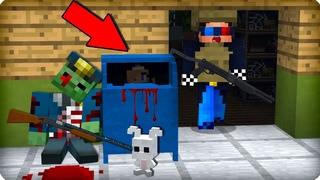 😩Почему она прячется? [ЧАСТЬ 3] Зомби апокалипсис в майнкрафт! - (Minecraft - Сериал) ШЕДИ МЕН