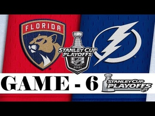 Florida Panthers vs Tampa Bay Lightning | Stanley Cup 2021 | Game 6 | , 2021 | Обзор матча