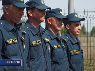 Теперь и в Узытамаке: в районе открылось первое модульное пожарное депо