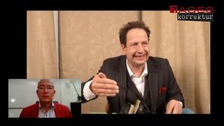 Tageskorrektur Interview zur Straßenrede    in Berlin mit AfD MdB Hansjörg Müller