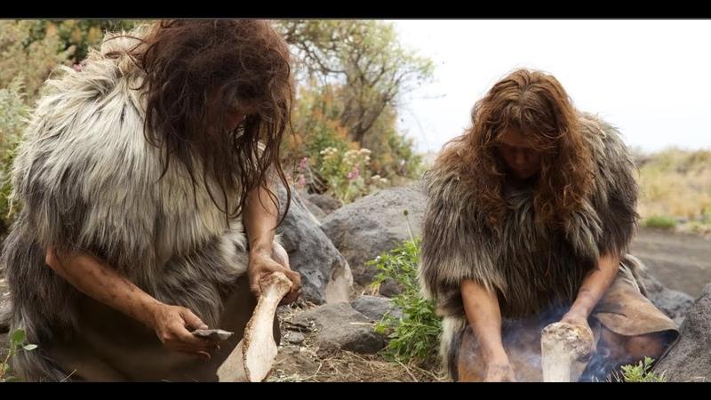 Неандертальцы Тайна происхождения человека Документальный фильм