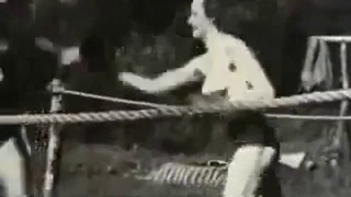 vintage german female boxing
