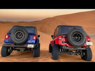 Автомобильные забавы от Jeep Wrangler | Покатушки на Барханах
