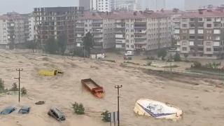 Apocalypse in Turkey !! Terrible flash flood in city of Artvin !
