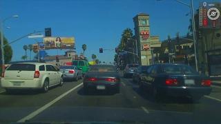 Part of our 1,000+ mile challenge: Driving autonomously along Sunset Boulevard