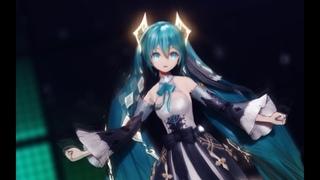 【VOCALOID MMD/4K/60FPS】Hatsune Miku【Catch The Wave】 #PleaseReadDescription