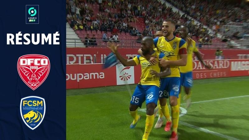 DIJON SCO FC SOCHAUX MONTBELIARD 1 3 Résumé DFCO FCSM 2021 2022