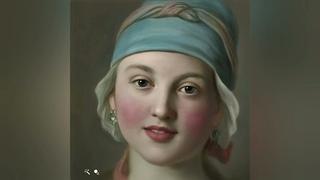Живые фото, 10 оживших портретов Эрмитажа - при помощи нейросетей
