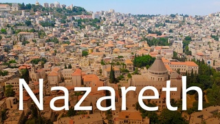 NAZARETH, OLD CITY. Walking Through the Streets of Beautiful City