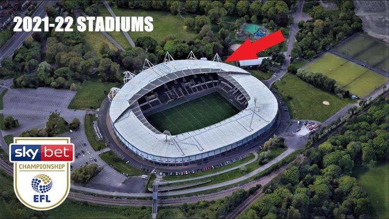 The Championship 2021 22 Stadiums