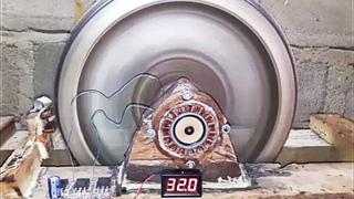 Ученые физики в шоке! Маховичный вечный двигатель работает!