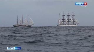 Крымские курсанты вернулись из кругосветного путешествия