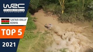 TOP 5 close calls - WRC Safari Rally Kenya 2021