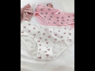 4 шт./лот, трусики для девочек карамельных цветов, нижнее белье с сердечками, хлопковые трусы, мягкое удобное нижнее белье,