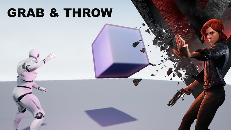 Grab and Throw in Unreal Engine