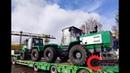 Отгрузка 2-х тракторов т-150 после капитального ремонта в Республику Татарстан.