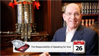 July 26: The Responsibility of Speaking for God
