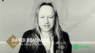 """DAVID READMAN - VLOG! """"SHELTER FROM THE STORM"""" first single available on the ."""