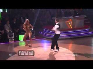 Chelsea Staub and Mark Ballas -- Cha Cha Cha