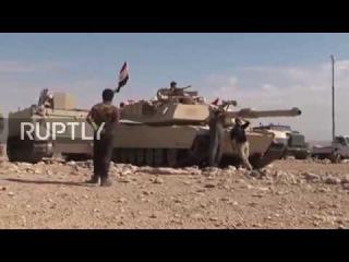 Ирак: НМС войска и ВВС Ирака продолжают борьбу за Мосуле.