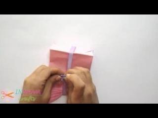 Paper GIFT BAG (Easy) - делаем подарочную коробочку -простая идея!