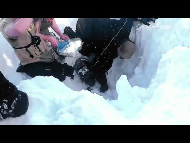 Беар Гриллс Кадры спасения В снегу