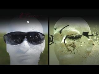 Защитные очки Pyramex V2G, Crash-Test