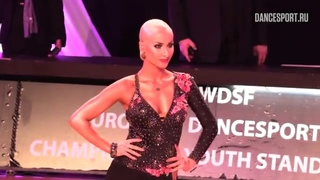 Moldovan Paul - Tatar Cristina ROU, Samba | WDSF International Open Latin