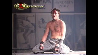 CZW: Danny Havoc eliminates DJ Hyde from Cage of Death 9 |