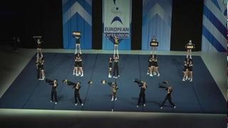 Cheerleading .Junior Cheer Coed Elite Norway NRC Tigers.