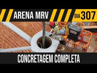 ARENA MRV   7/8 CONCRETAGEM DO PILAR METALICO   20/02/2021