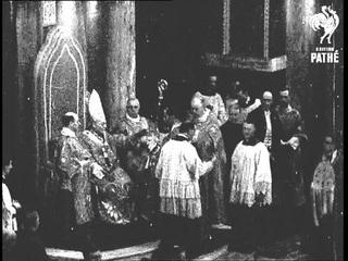New Archbishop Enthroned (1935)