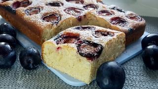 Простой и Вкусный Пирог со Сливами. Рецепт быстрого пирога к чаю // Plum Coffee Cake Recipe