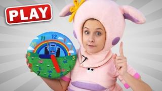 KyKyPlay - Распаковка Часы Синий Трактор - Учимся понимать время с Алисой