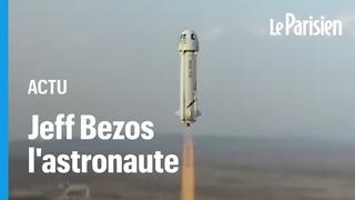 Premier vol spatial réussi pour Jeff Bezos, «abasourdi» par «la beauté et la fragilité» de la Terre