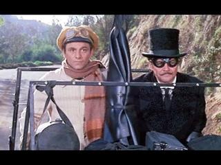 Большие Гонки, 1965 - У номера 5 вывалится мотор - старые фильмы
