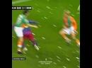 Знаменитый финт Роналдиньо разворот на 360 градусов времён Барселоны