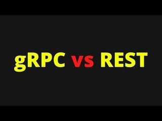 gRPC vs REST, что выбрать для нового сервера?