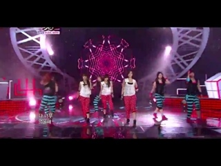 110304 T-ARA with 5DOLLS - Its You @ MusicBank
