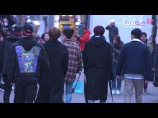 [RAW VK][] MONSTA X arrive at Music Bank @ xportsnews
