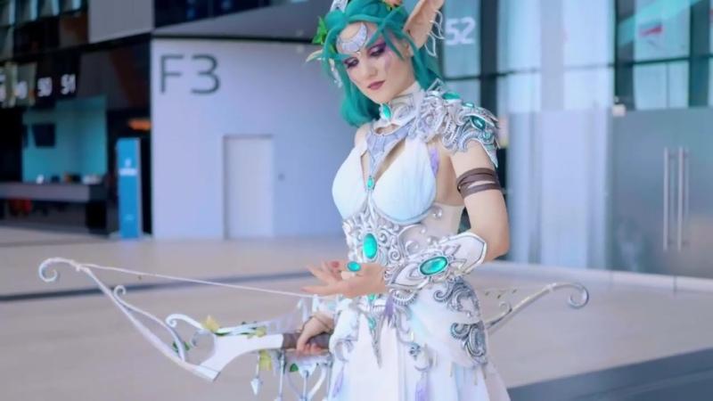 World of Warcraft Tyrande Whisperwind cosplay Starcon 2019 FotoPihota
