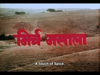 Mirch Masala (1986) dir. Ketan Mehta