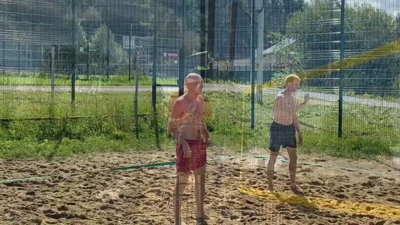 Соревнования по пляжному волейболу 14 августа 2021 года Верховажский вестник
