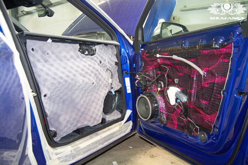 Комплексная шумоизоляция Audi Q5, изображение №21