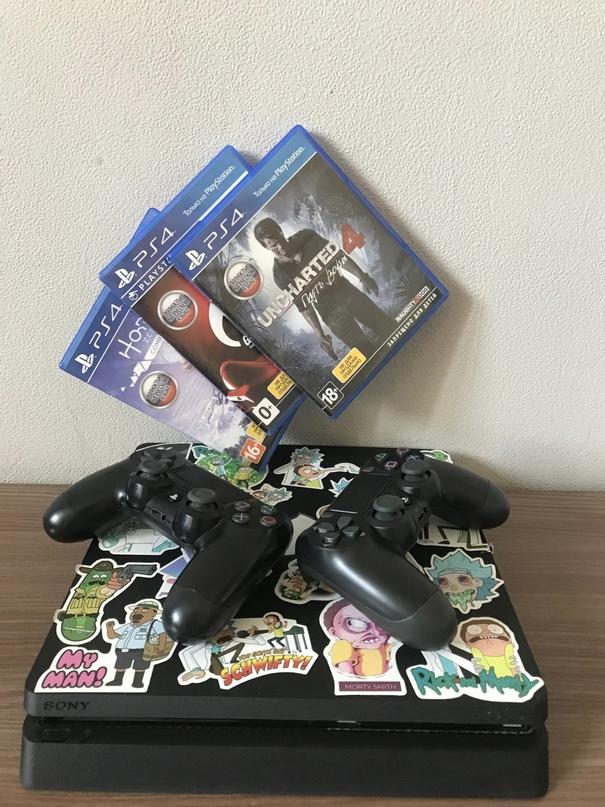 Продается PS4 slim на 500gb в отличном   Объявления Орска и Новотроицка №28237