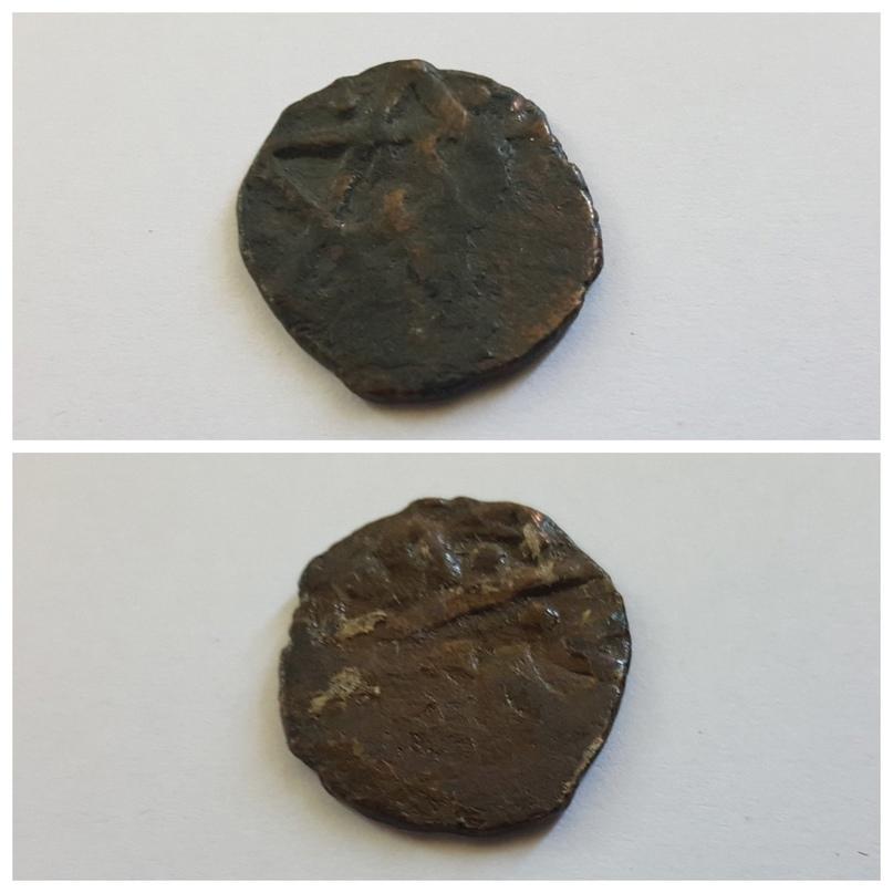 Монета Пулад-Тимура. Из фондов Пензенского краеведческого музея.